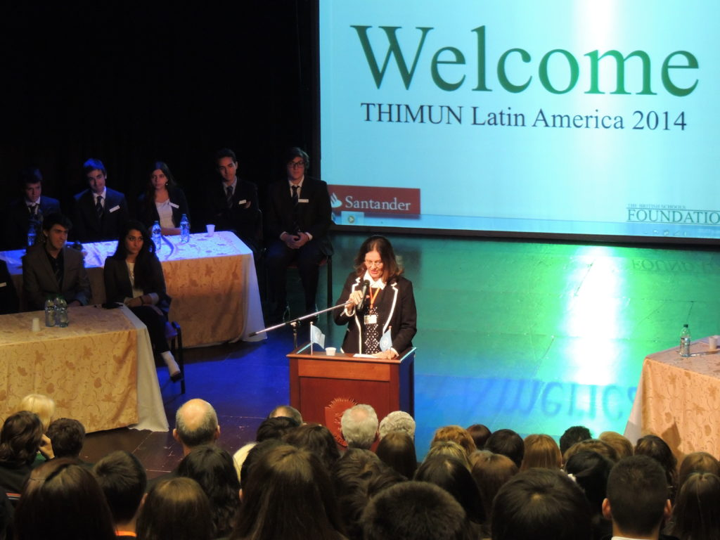 1st THIMUN Latin America Conference in Uruguay & 10th THIMUN Singapore Conference.
